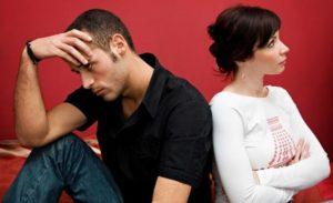 couple en pleine crise